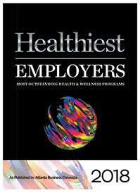 healthiest employers 2018 award